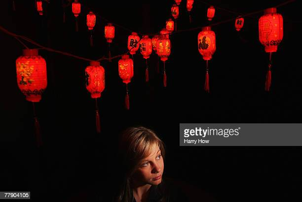 Gymnast Shawn Johnson poses for a portrait during the Athlete Summit at Smashbox Studios on November 13 2007 in West Hollywood California