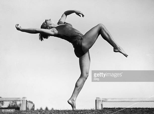 Gymnastic dancing in Germany 1943