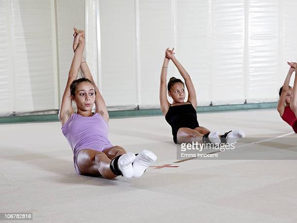 gymnastic, training, abdominals,