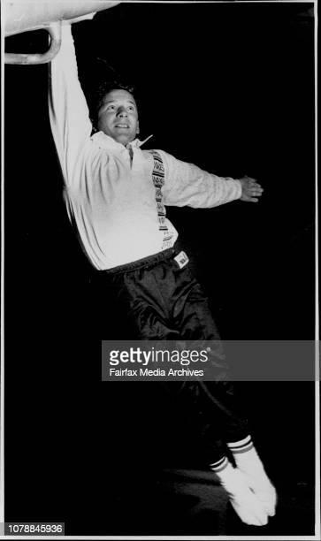 Gymnastics at the state SP RTS centers at Homebush Werner Birnbaum June 2 1989