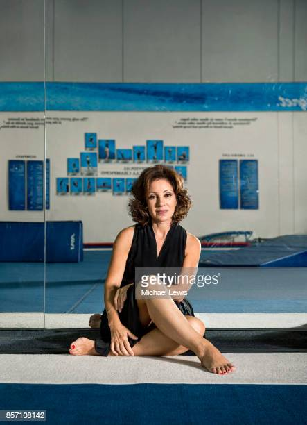 Gymnastics coach Valorie Kondos Field photographed for Los Angeles Magazine on July 31 at the UCLA Womens Gymnastics facility in Los Angeles...