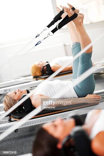 ginástica pilates. - reformista - fotografias e filmes do acervo