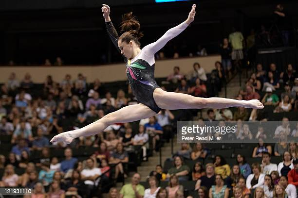 Visa Championships McKayla Maroney in action during balance beam event Senior Women's Competition Final Day at Xcel Energy Center St Paul MN CREDIT...