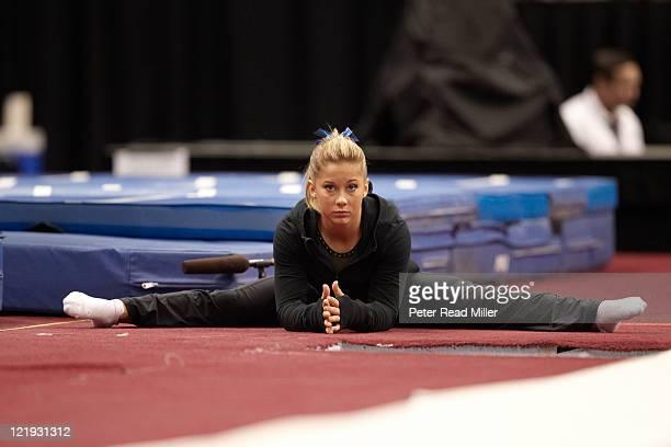 floor gymnastics shawn johnson. Visa Championships Shawn Johnson During Senior Women\u0027s Competition Day 1 At Xcel Energy Center St Paul Floor Gymnastics