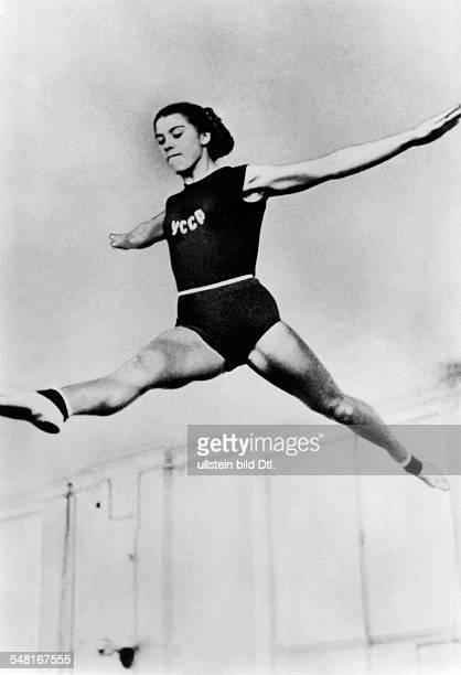 Gymnastics women Larisa Latynina