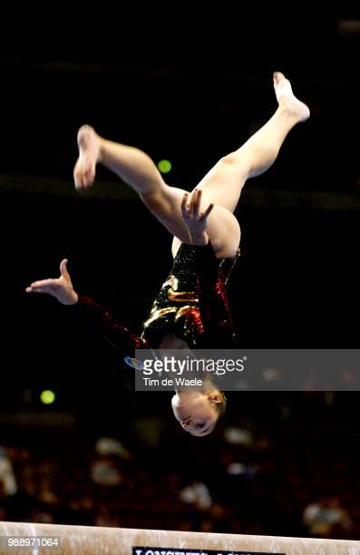 World Championships 2003 /Moro Sara Esp Balance Beam Poutre Women Qualification Qualifications Femmes Championat Du Monde Gymnastique...