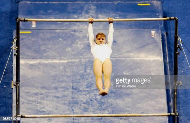 World Championships 2003 /Pavlova Anna Rus Uneven Bars Barres Asymetriques Women Qualification Qualifications Femmes Championat Du Monde Gymnastique...