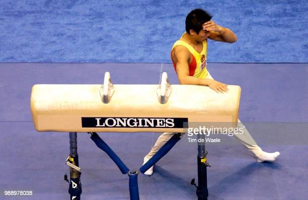 World Championships 2003 Xiao Qin Deception Pommel Horse Cheval D'Arcons /Mens Individual Apparatus Finals Finales Individuelles Par Appareileshommes...