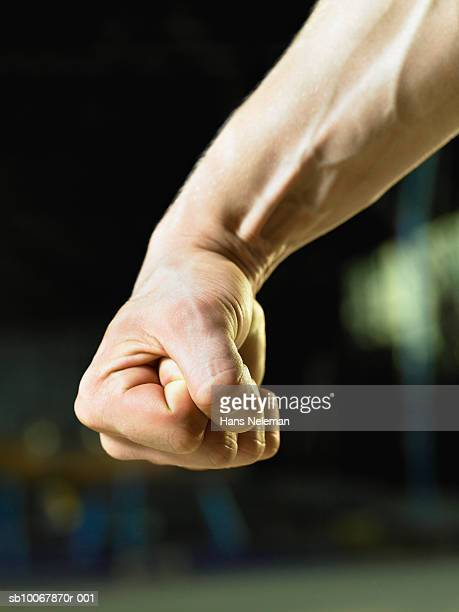 gymnast's fist, close-up - fist stock pictures, royalty-free photos & images