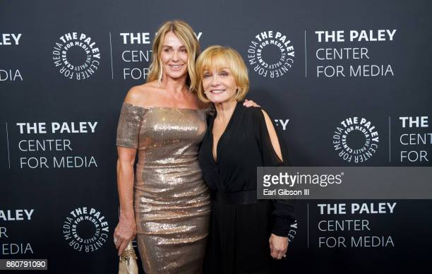 Gymnist Nadia Comaneci and actress Cathy Rigby attend Paley Honors In Hollywood A Gala Celebration Women In Television at the Beverly Wilshire Four...