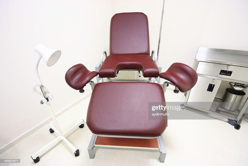 Gynecologist practice : Stock Photo