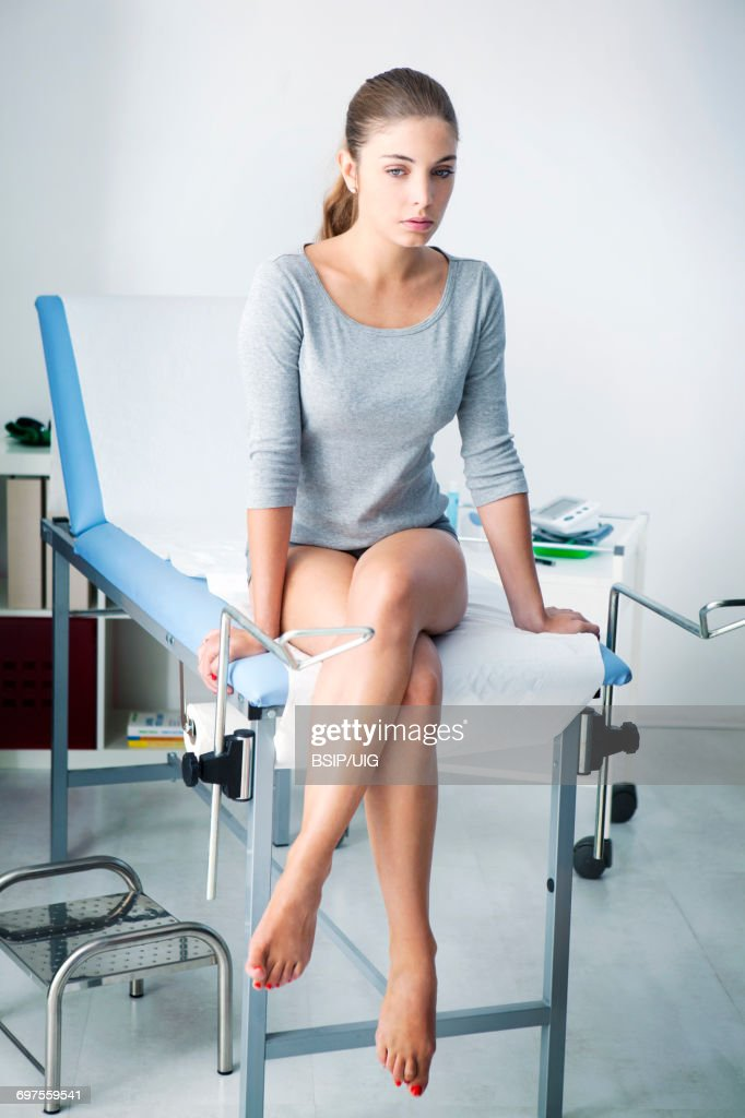 Gynecology consultation : Stock Photo