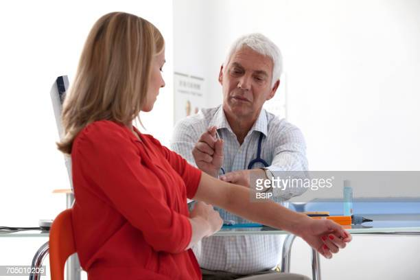 gynecology consultation - implant stock photos and pictures