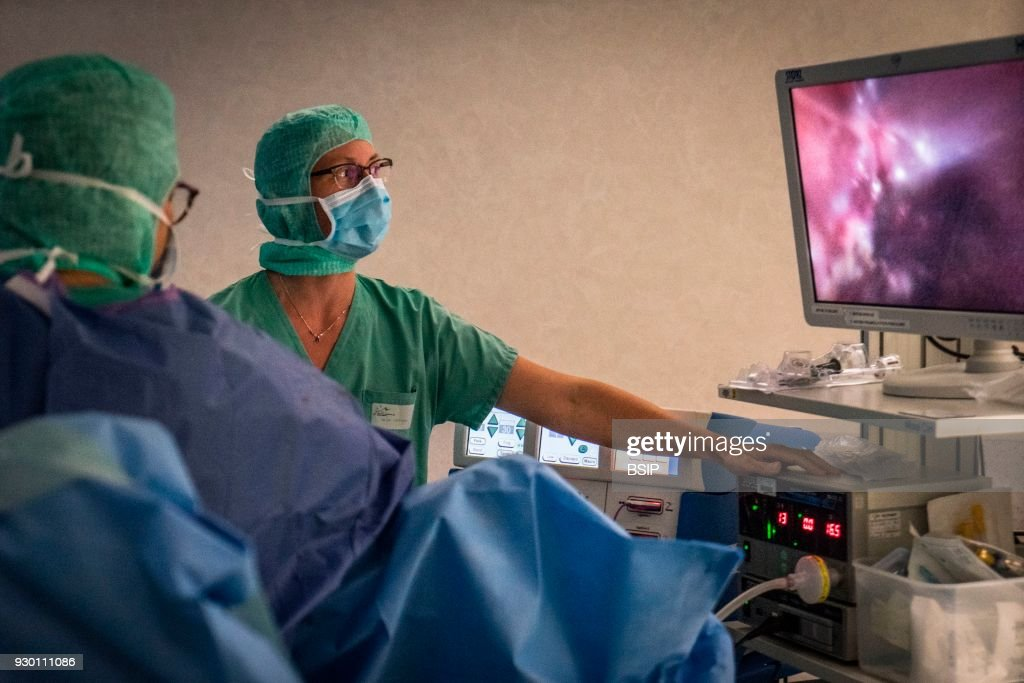 Hysterectomy : News Photo