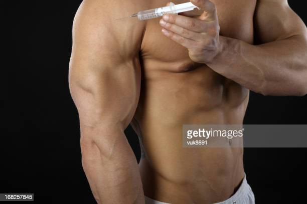 gynecomastia - hormone stock pictures, royalty-free photos & images
