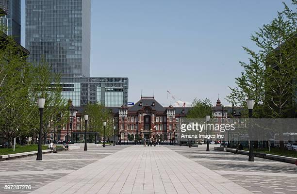 Gyoko-street and Tokyo station