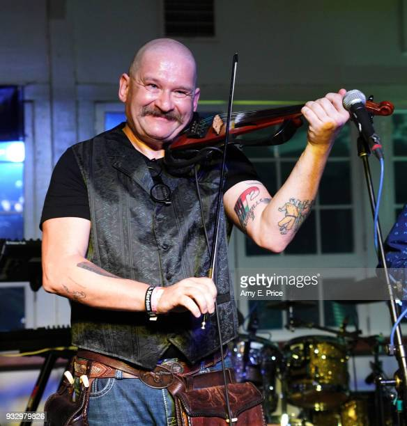Gyorgy Ferenczi of Rackajam performs onstage at Sounds from Hungary during SXSW at Palm Door on March 16 2018 in Austin Texas