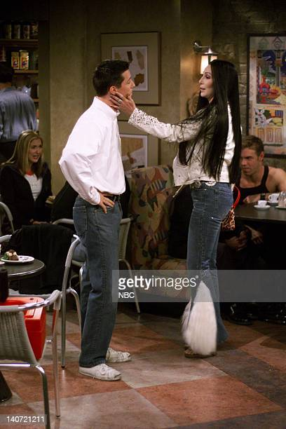 "Gypsies, Tramps and Weed"" Episode 7 -- Pictured: Sean Hayes as Jack McFarland, Cher as herself -- Photo by: NBCU Photo Bank"