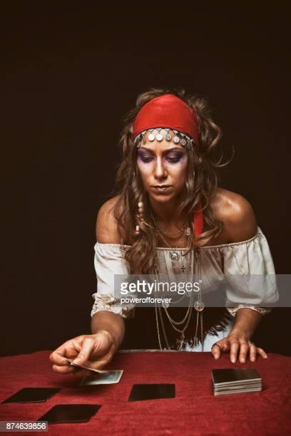 Gypsy Reading Tarot Cards