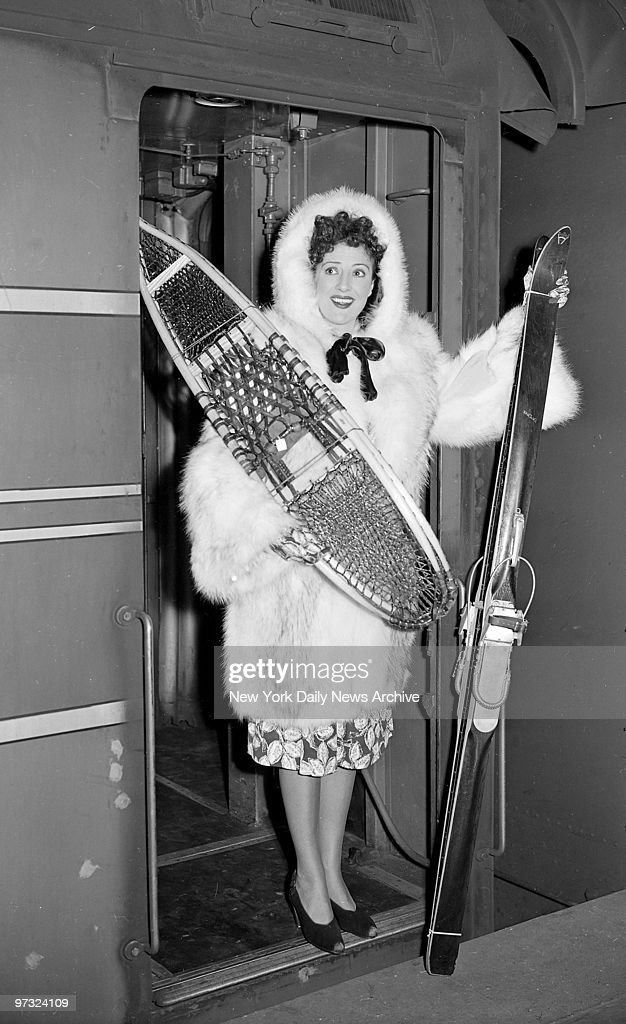 Gypsy Rose Lee arrives in costume at Grand Central Station after completing the movie u0027  sc 1 st  Getty Images & Gypsy Rose Lee arrives in costume at Grand Central Station Pictures ...