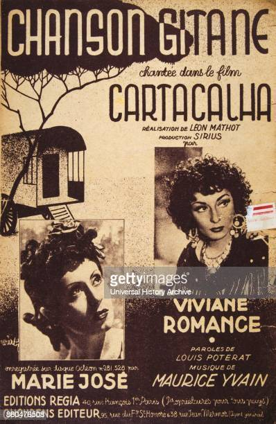 Gypsy songs from the French song book 'Chanson Gitane du film Cartacalha' by Viviane Romance and Annette Lajon 1941