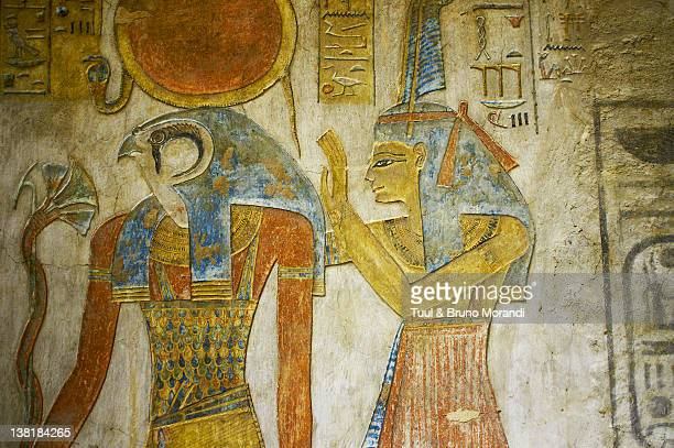 gypt, luxor, valley of the kings, setnakht tomb - luxor thebes stock pictures, royalty-free photos & images