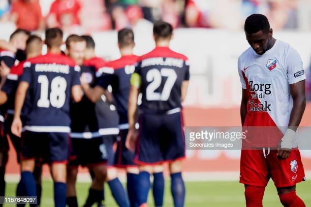 Gyrano Kerk of FC Utrecht during the match between FC Utrecht v Zrinjski at the Stadium Galgenwaard on July 25 2019 in Utrecht Netherlands