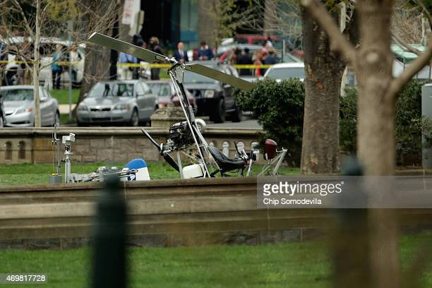 A gyrocopter was illegally landed on the West Front of the US Capitol April 15 2015 in Washington DC Doug Hughes a 61yearold postal worker from...