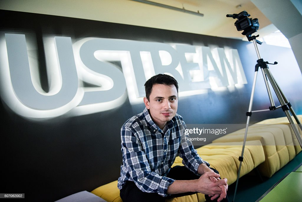 Gyula Feher, co-founder and chief technology officer of Ustream, Inc., poses for a photograph inside the Ustream office in Budapest, Hungary, on Tuesday, Jan. 26, 2016. International Business Machines Corporation (IBM) is buying live video stream provider Ustream to help sell more video services to clients including the National Football League, HBO and the Food Network, through its cloud platform. Photographer: Akos Stiller/Bloomberg via Getty Images