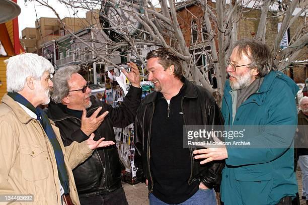 Gyula Gazdag Robert Rosen UCLA's TFT School Dean Geoffrey Gilmore Sundance Film Festival Director and Kenneth Turan