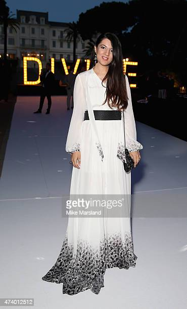 Gyunel Rustamova attends the De Grisogono Divine In Cannes Dinner Party at Hotel du CapEdenRoc on May 19 2015 in Cap d'Antibes France