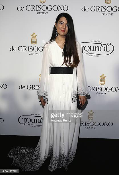Gyunel Rustamova attends the De Grisogono party during the 68th annual Cannes Film Festival on May 19 2015 in Cap d'Antibes France