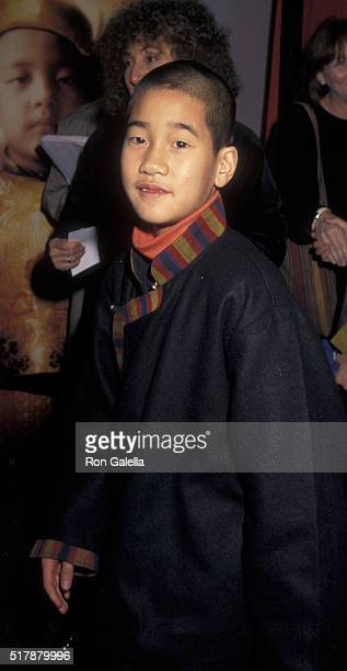 Gyurme Tethong attends the premiere of 'Kundun' on December 11 1997 at Loew's Astor Plaza Theater in New York City