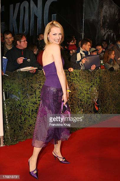 Gzsz Natalie Alison at the European premiere of King Kong in the theater at Potsdamer Platz Berlin