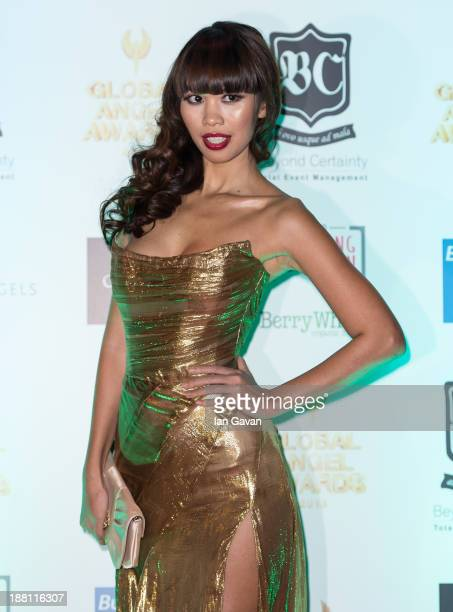 Ha Anh Vu attends The Global Angel Awards at The Roundhouse on November 15 2013 in London England