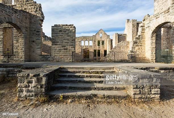 ha ha tonka state park ruins - state park stock pictures, royalty-free photos & images