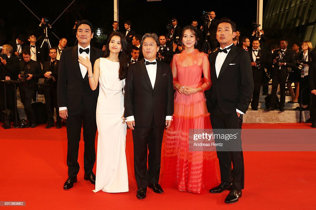 """The Handmaiden "" - Red Carpet Arrivals - The 69th Annual Cannes Film Festival"