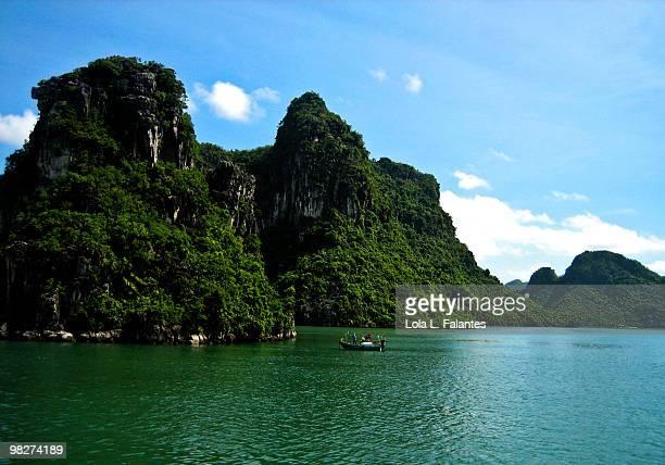 Ha Long Bay river