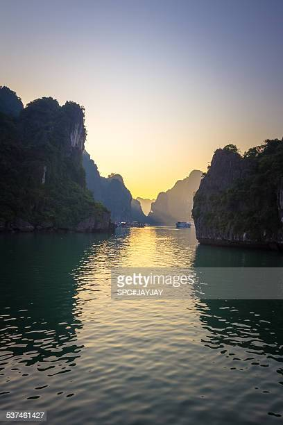 Ha Long Bay the UNESCO World Heritage of Vietnam