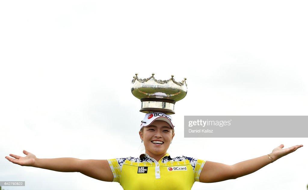 ISPS Handa Women's Australian Open - Round Four : News Photo