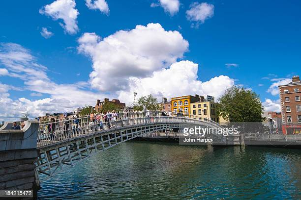 Ha' Penny Bridge, Dublin, Ireland