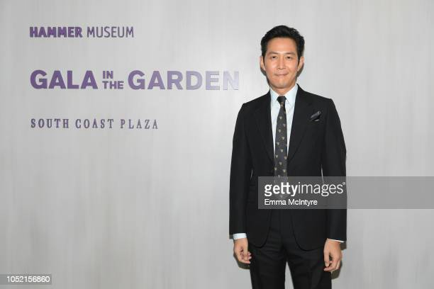 Ha Seokju attends the Hammer Museum 16th Annual Gala in the Garden with generous support from South Coast Plaza at the Hammer Museum on October 14...