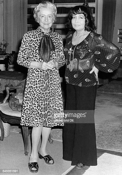 Haack, Kaethe *11.08.1897-+Schauspielerin, D- mit ihrer Tochter Hannelore- 1974