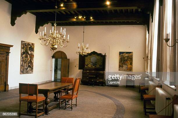 Haarlem A room of the museum Frans Hals 1991 BLI33320