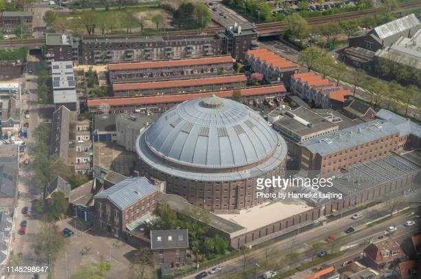 haarlem from above - the former jail - prison building stock pictures, royalty-free photos & images