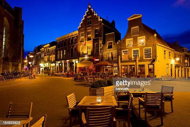 haarlem netherlands bars and restaurants - café bar gebouw stockfoto's en -beelden