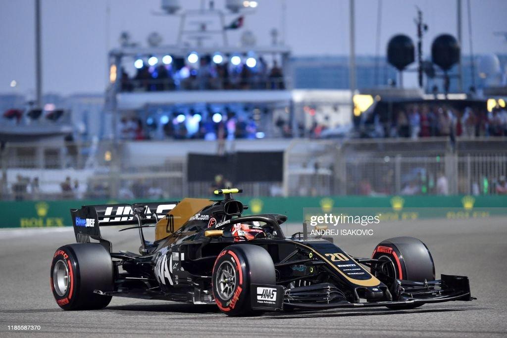 F1-AUTO-PRIX-ABU-DHABI-QUALIFIER : News Photo
