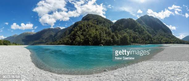 Haast at South Island of New Zealand.