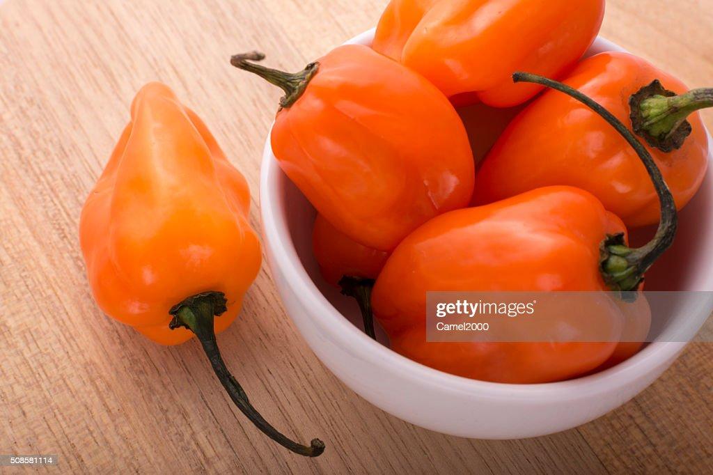 Habanero Pepper : Foto stock