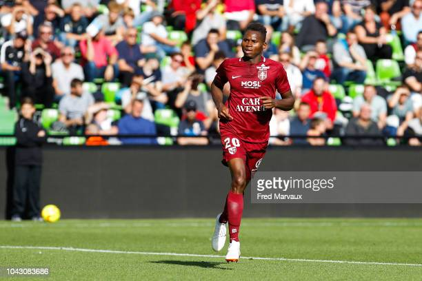 Habib Diallo of Metz during the Ligue 2 match between FC Metz and Le Havre on September 29 2018 in Metz France